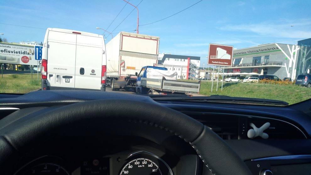 Dopravné obmedzenia v Bratislave